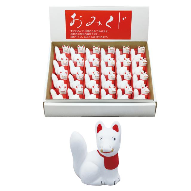 キツネ(巻物) 24個組 陳列用化粧箱入り