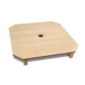 下須板 白木プリント合板 寸法:34cm角×高さ3.6cm