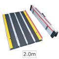 折りたたみ式 軽量・段差スロープ・脱輪防止タイプ