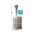 焼却炉「山水籠」 容量165リットルタイプ