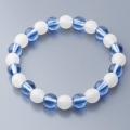 子ども〈蓄光〉腕輪念珠「光ルンです輪」 ブルー
