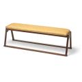 本堂用 木製 三人掛椅子