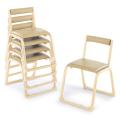 アルミ製 背付き お詣り椅子