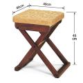 折畳式 木製 軽便椅子