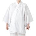 広幅サイズの半襦袢 本衿 平袖 半襦袢