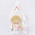 お守り 菓子袋 お地蔵さまクッキー・ミニ金平糖セット