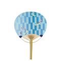 平柄 小丸型 竹うちわ 矢絣 トンボ