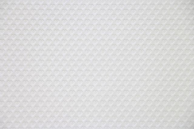 teshioランチョン【Heart Snow White(ハート・スノーホワイト)・ランチョンマット】(200枚入り)1枚単価60円