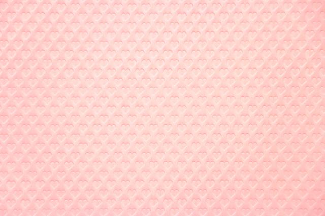 teshioランチョン【Heart Baby Pink(ハート・ベビーピンク)・ランチョンマット】(200枚入り)1枚単価64円