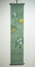 タペストリー花景色 【夏蜜柑】 『日本市 中川政七商店』