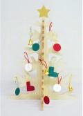 もみの木で作ったクリスマスツリー
