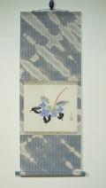 玄花・ミニ掛軸 紫陽花