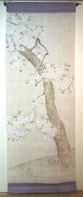 小禽と桜風
