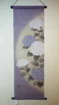麻タぺストリー・てまり紫陽花