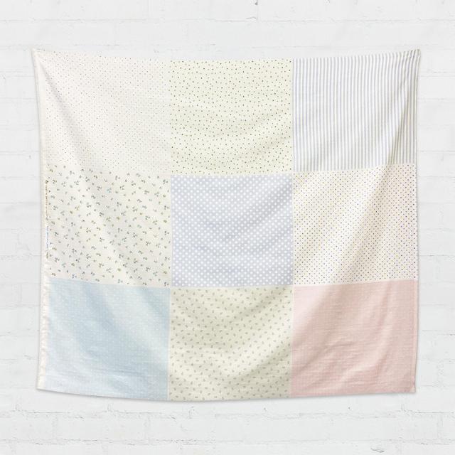 textile pantry JUNKO MATSUDA マルチパターンダブルガーゼ生地パネル生地9柄入り合計4mカット販売