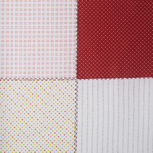 textile pantry JUNKO MATSUDA パッチワークパネル シーチング生地 9柄入り合計1mカット
