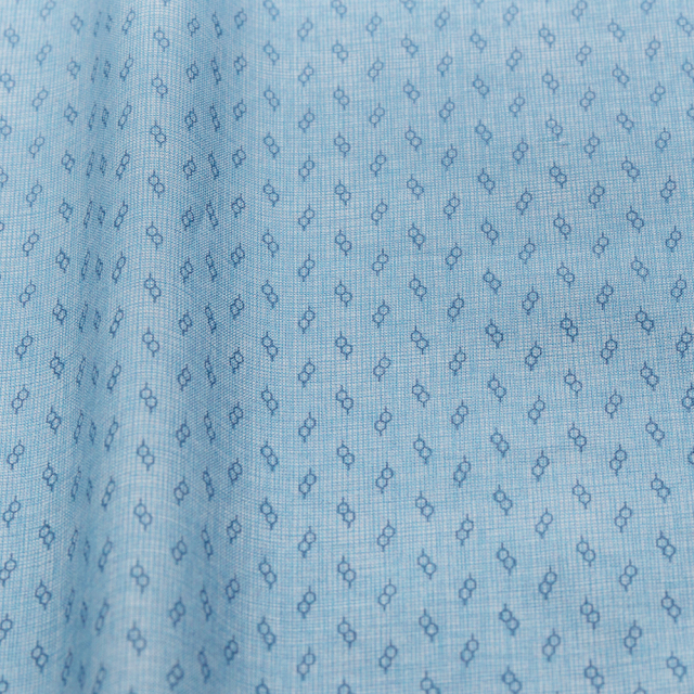 textile pantry JUNKO MATSUDA glasses スケア生地 ブルー