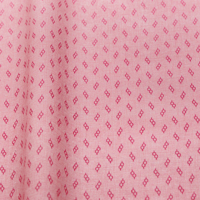 textile pantry JUNKO MATSUDA glasses スケア生地 ピンク