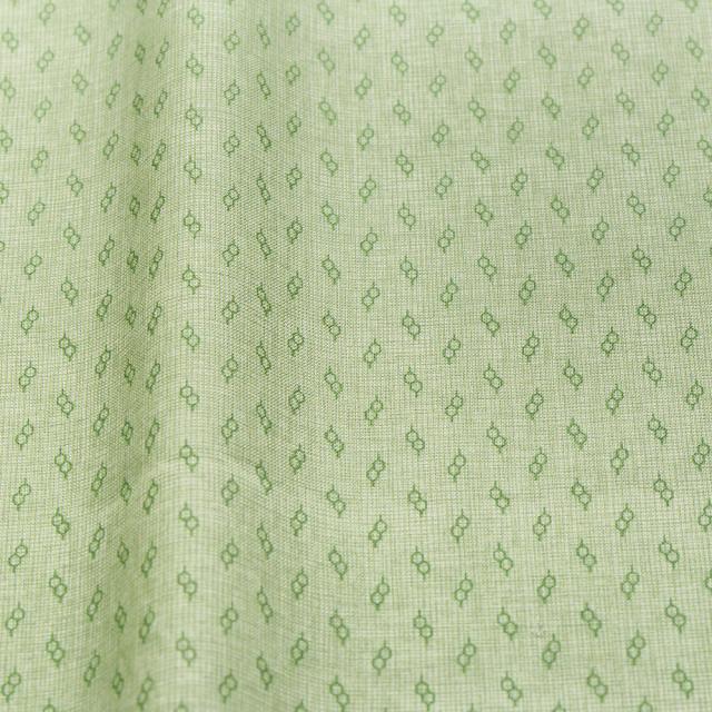 textile pantry JUNKO MATSUDA glasses スケア生地 グリーン