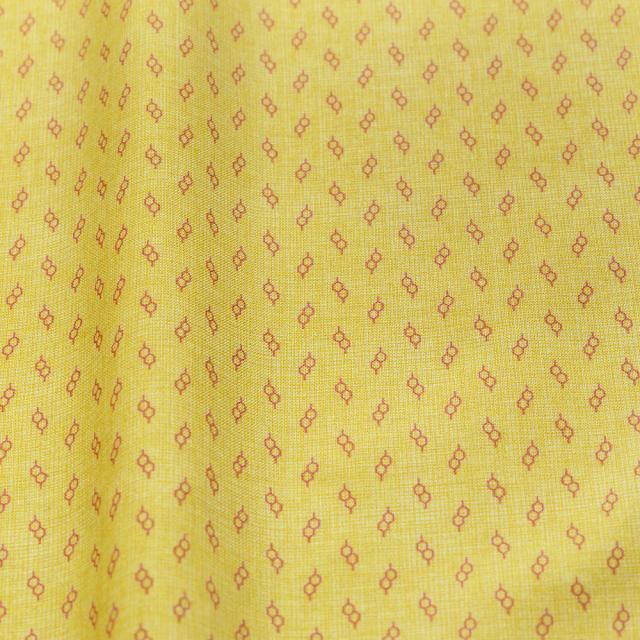 textile pantry JUNKO MATSUDA glasses スケア生地 イエロー