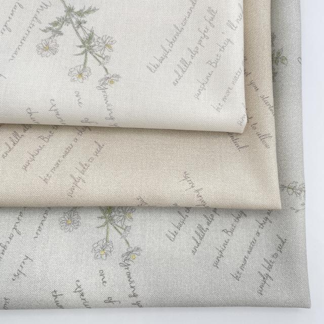 textile pantry JUNKO MATSUDA herb シーチング生地