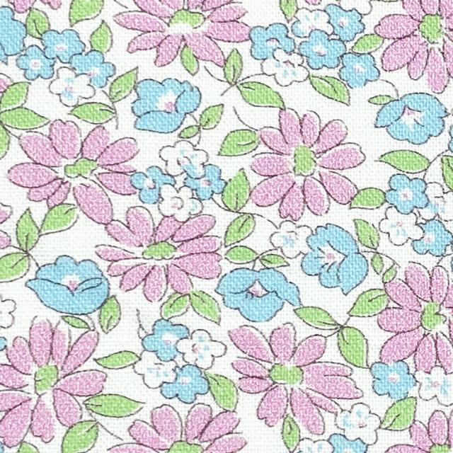 textile pantry JUNKO MATSUDA petit bouquet collection petit marguerite シーチング生地