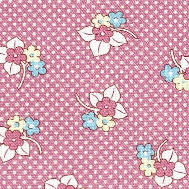 textile pantry JUNKO MATSUDA petit bouquet collection retro flower シーチング生地