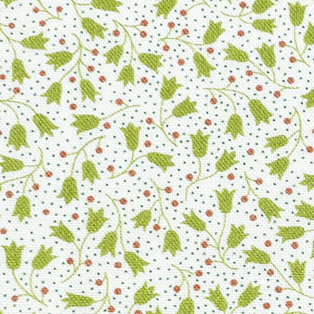 textile pantry JUNKO MATSUDA petit bouquet collection petit tulip シーチング生地