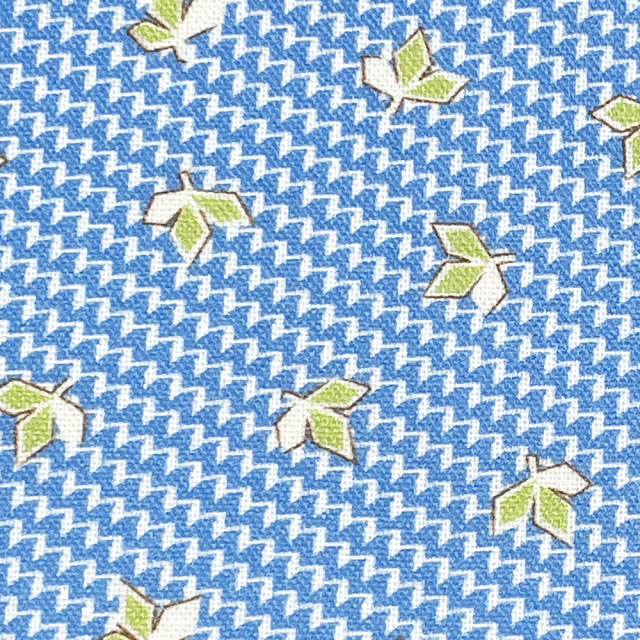 textile pantry JUNKO MATSUDA petit bouquet collection trefoil シーチング生地