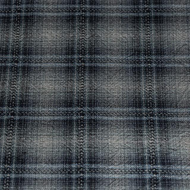 textile pantry JUNKO MATSUDA color ombre plaid 先染めドビー織りワッシャー加工生地