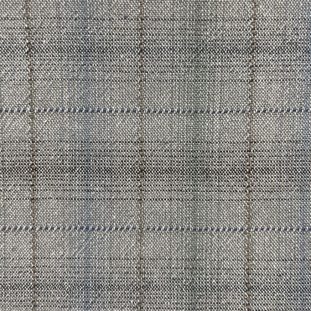 textile pantry JUNKO MATSUDA misty chambray plaid 先染めシャンブレーチェックワッシャー加工生地