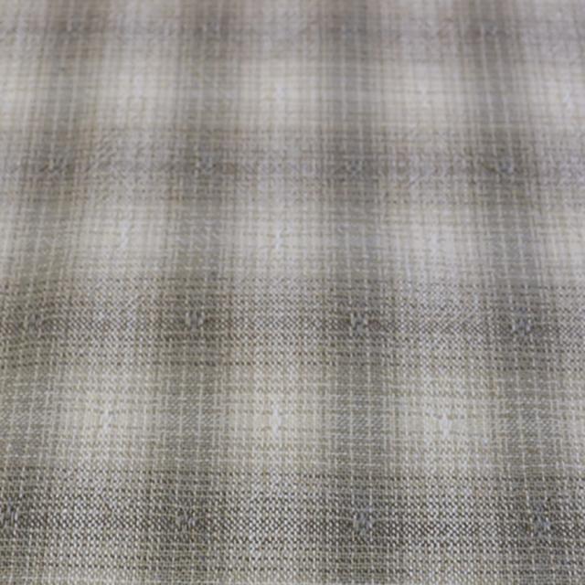 textile pantry JUNKO MATSUDA mini ombre plaid 先染めシャンブレーボーダーワッシャー加工生地