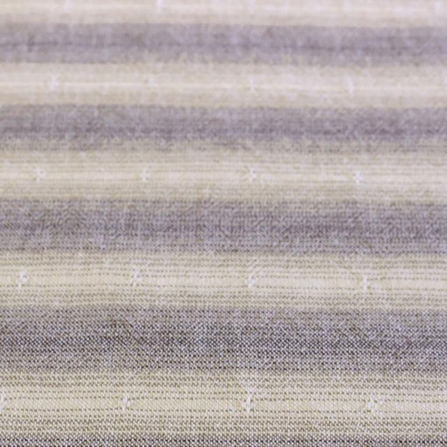 textile pantry JUNKO MATSUDA shambray horizontal stripe先染めシャンブレーボーダーワッシャー加工生地