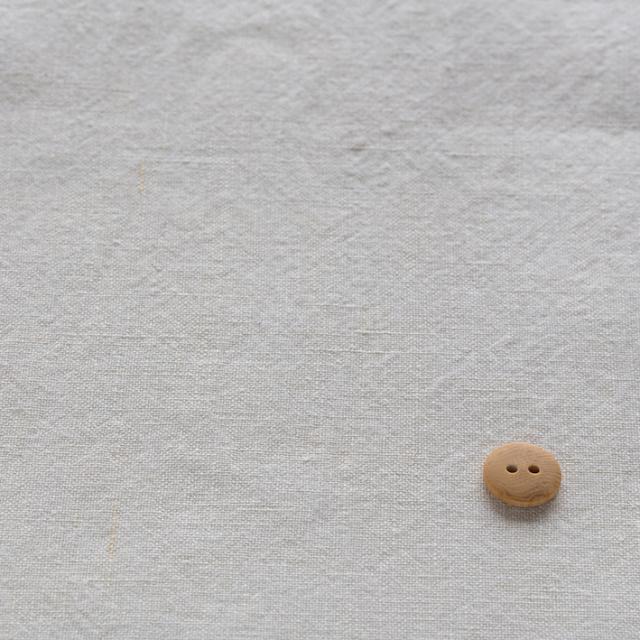 textile pantry JUNKO MATSUDA リネンシーチング 天日干し仕上げ アイボリー