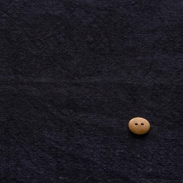 textile pantry JUNKO MATSUDA リネンシーチング 天日干し仕上げ スミ紺