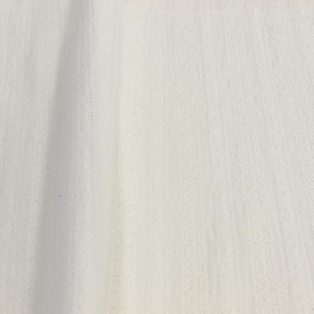 textile pantry JUNKO MATSUDA からみ織 天日干し仕上げレーステイスト生地 オフ