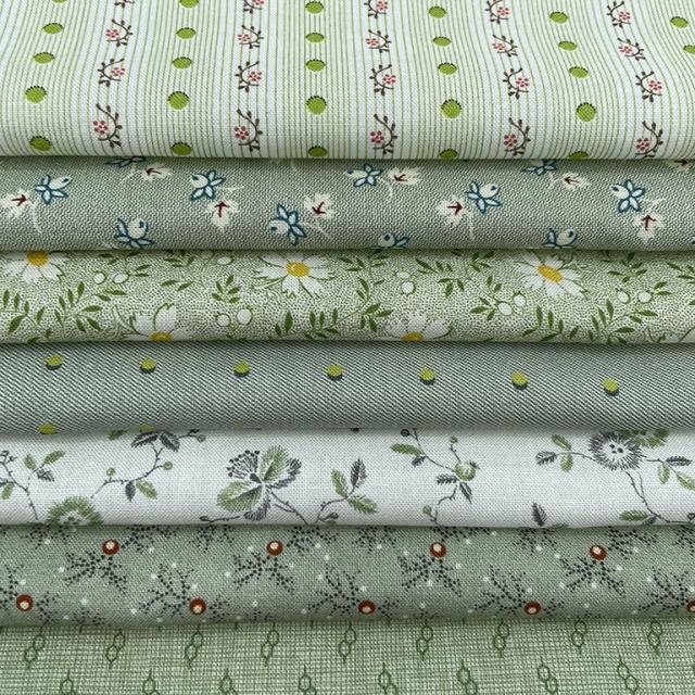 textile pantry JUNKO MATSUDA Antique pattern collection カラーアソート