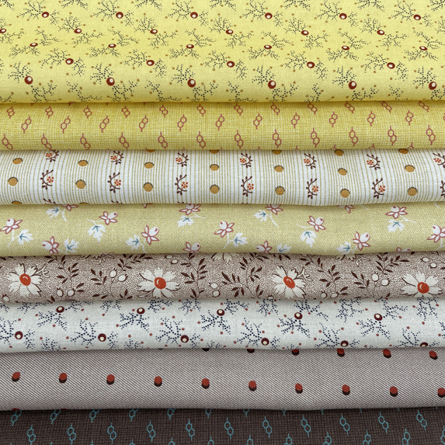 textile pantry JUNKO MATSUDA Antique pattern collection カラーアソート