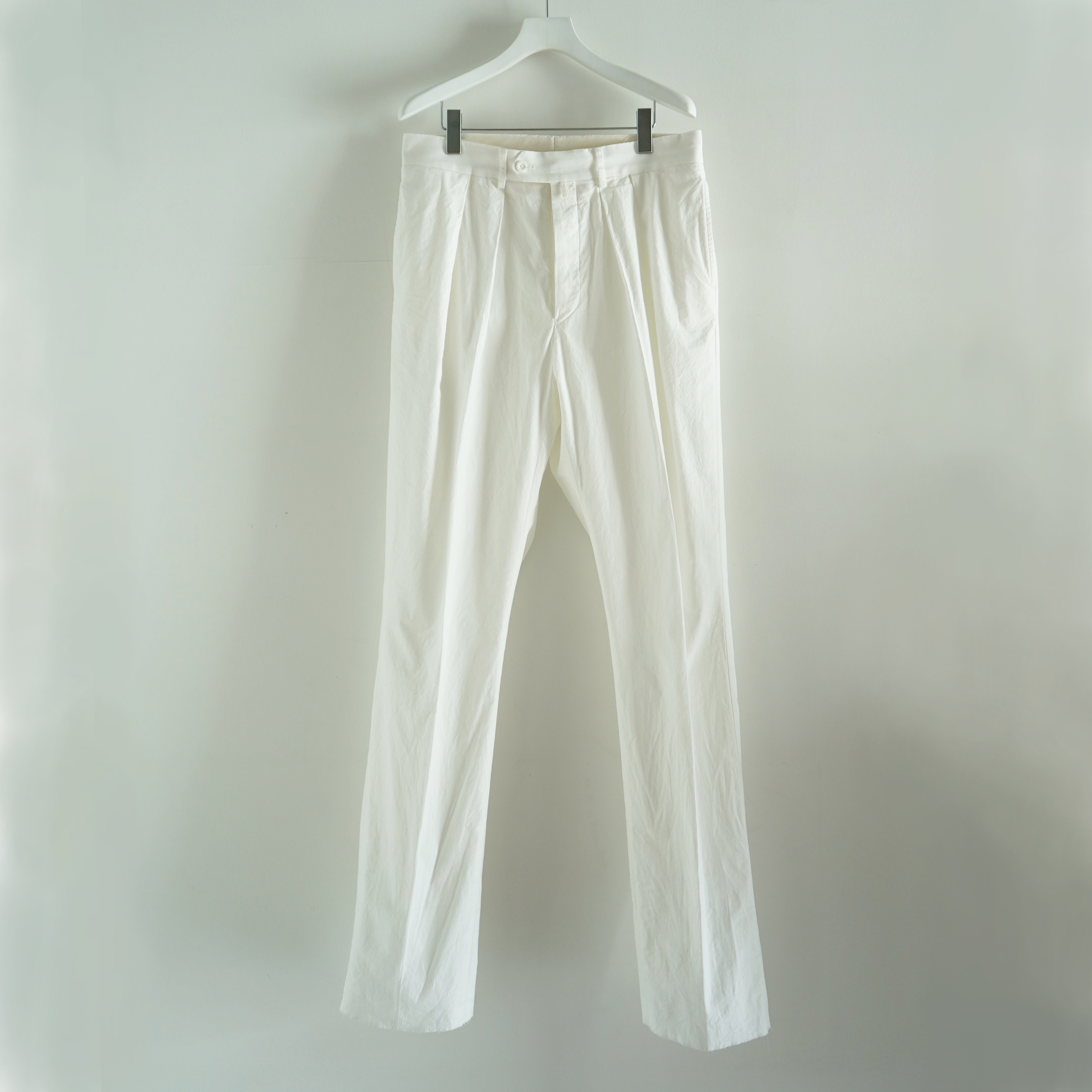 NEAT FOR S H EXCLUSIVE TROUSERS WHITE