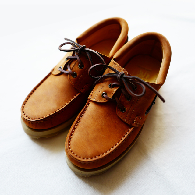 ARPENTEUR × Paraboot SAFARI BRIAC SHOES TAN