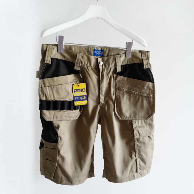 PROJOB MULTI-POCKET SHORTS BEIGE