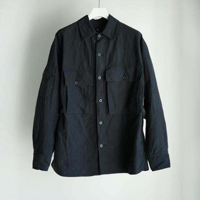 KAPTAIN SUNSHINE Field Shirt Jacket BLACK