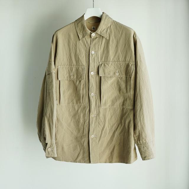 KAPTAIN SUNSHINE Field Shirt Jacket SAFARI BEIGE