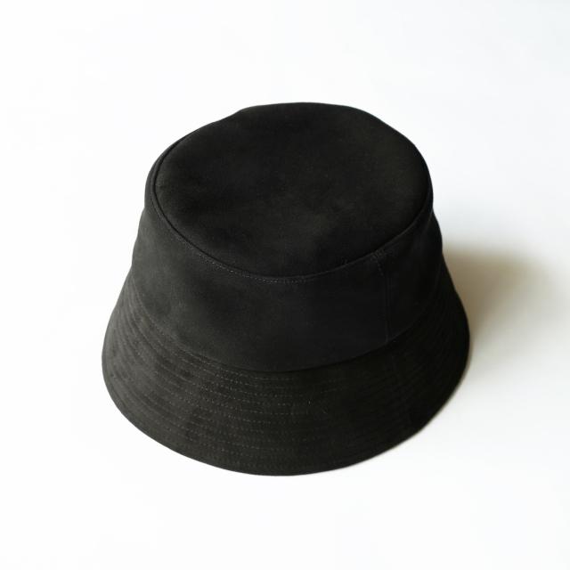COMESANDGOES SEEP SUEDE HAT BLACK