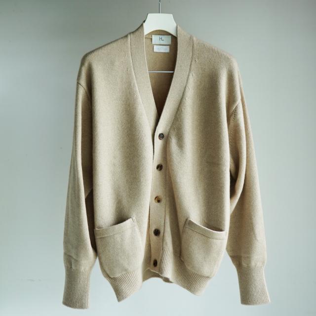 HERILL Goldencash Cashmere Cardigan NATURAL