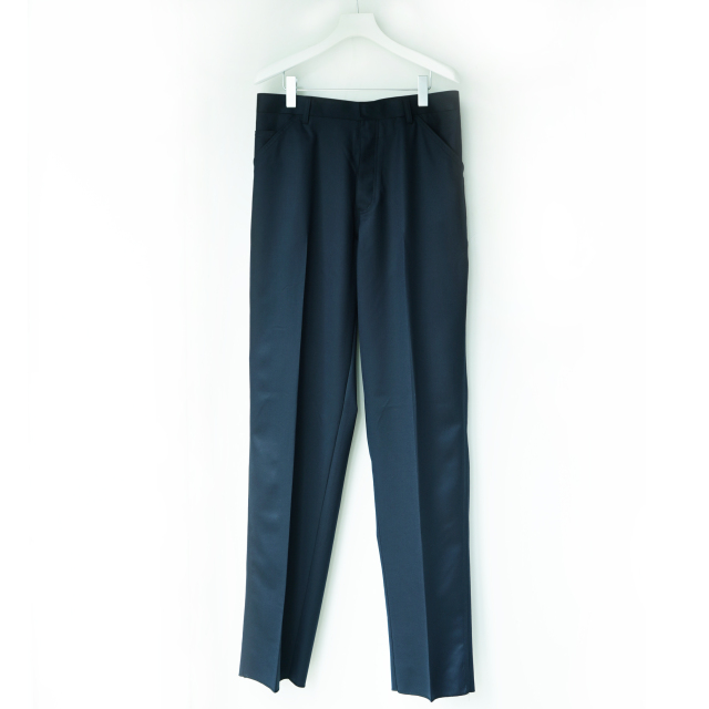 NEAT for S H EXCLUSIVE TROUSERS WOOL NAVY