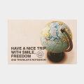 TF ポストカード ナイストリップ 地球儀柄 (07100082)