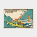TF ポストカード JAPAN ナイストリップ柄 (07100344)