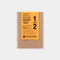 TF トラベラーズノート パスポートサイズ リフィル ST ホワイト (07100350)