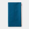 TF トラベラーズノート ペーパークロスジッパー ブルー (07100677)